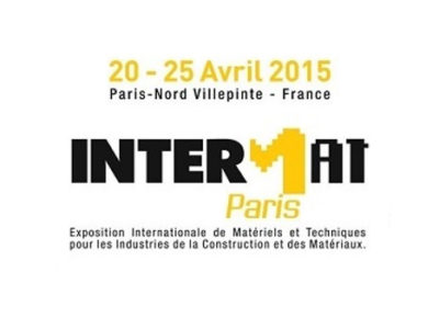 Intermat Paris, 20-25 April 2015