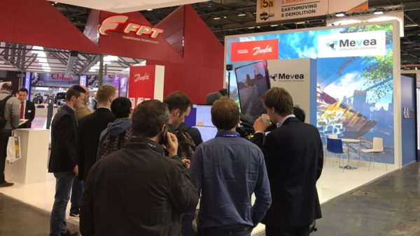 INTERMAT 2018 – Mevea Digital Twin in Paris