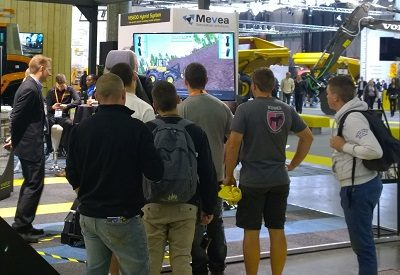 High interest on Mevea Solutions at Intermat Paris exhibition