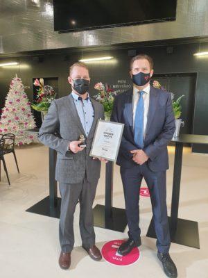 Mevea Chosen as Company of The Year in Lappeenranta, Finland