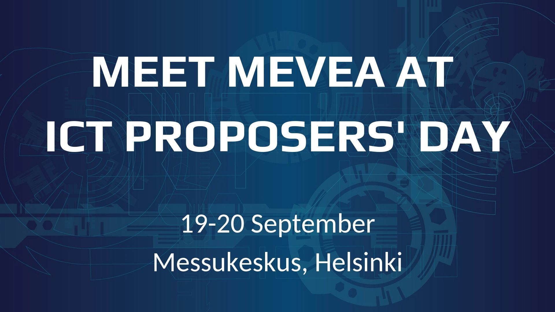 The Greatest Finnish Digital Innovations at ICT Proposers' Day