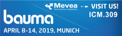 Experience Mevea Digital Twins in action at Bauma 2019