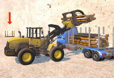 Wheel Loader virtual prototype